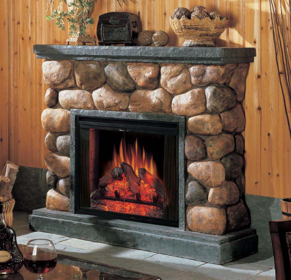 Pin River Rock Fireplace By Ancient Art Of Stone Pictures