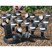 Malibu 20 Piece Low Voltage Outdoor Lighting Kit Better