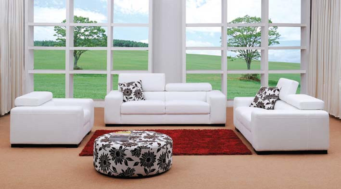 Miami Modern fabric Sofa Set
