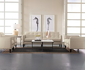 Milan Leather Living Room Furniture Collection
