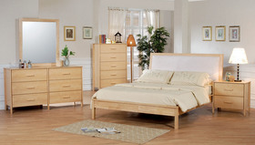 Natural Wood Bedroom Furniture At The Galleria