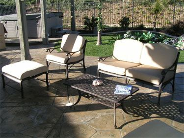 Newport Patio Furniture 4 Pc Deep Seating