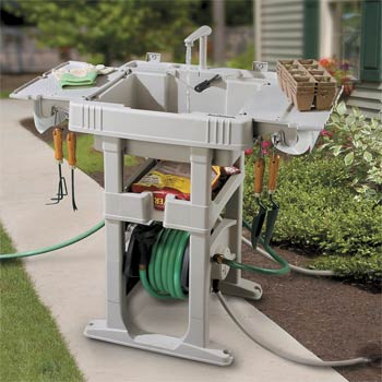 Sink Station With Automatic Hose Reel Betterimprovementcom