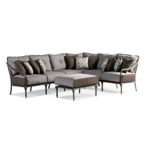 Thomasville Furniture Ind Summer Silhouette 4 Pc Sectional Set