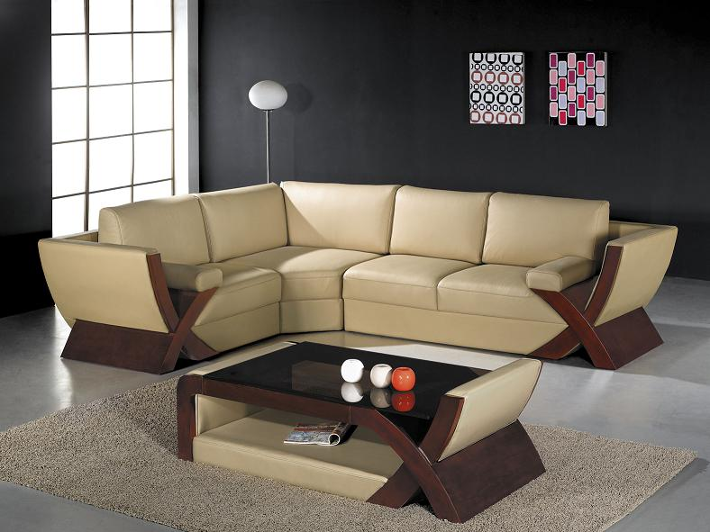 X-model - Ultra Modern Leather Sectional Sofa : ultra modern sectional sofa - Sectionals, Sofas & Couches