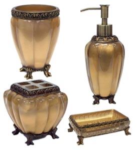 Antique Gold Bathroom Accessories Techieblogie Info