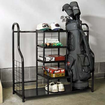 Delicieux Golf Bag Storage Organizer