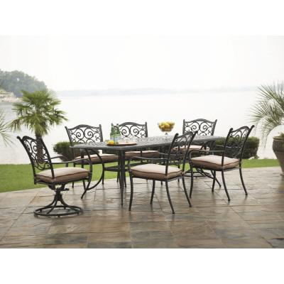 Hampton Bay Venice 7 Piece Dining Set