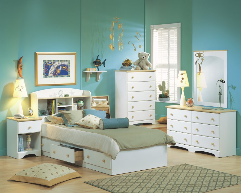 Childrens white bedroom furniture pine bedroom furniture for Children bedroom furniture