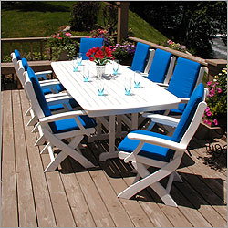 Nautical Signature 8 Seat Dining Set