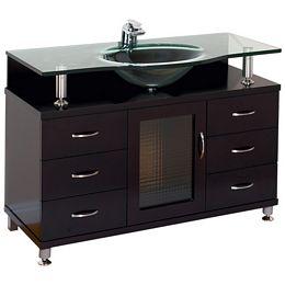 Amazon.com: Beverly 60-inch Bathroom Vanity (White/White