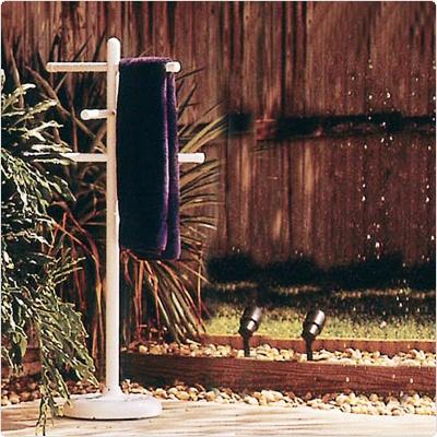 Poolside Towel Hanger