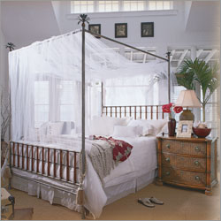 Tommy Bahama Home Palm Frond Metal Canopy Bedroom Set ...
