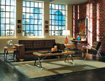 Caprice sedona sand sofa set by fairmont designs for Better by design couch