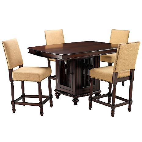 Lovely Caribbean 5 PC Gathering Dining Room Set