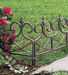 Classic Edging Defines And Protects Your Plantings Wrought Iron Edging Is A  Pretty And Practical Addition To Your Garden Or Flower Beds.
