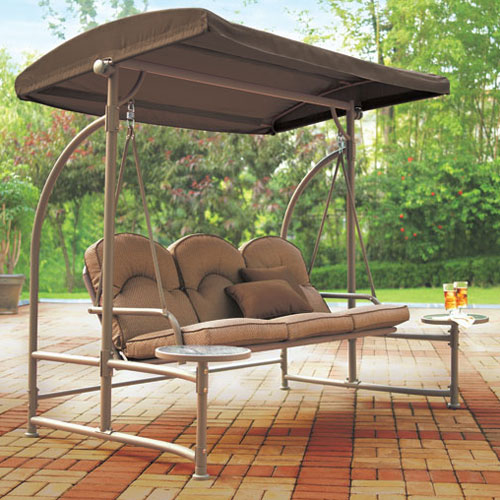 Outdoor Swing With Canopy Better Home Improvement Www