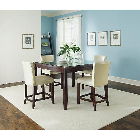 Stunning Apartment Dining Set Images Amazing Interior Design . Apartment  Size Dining Room Sets ...