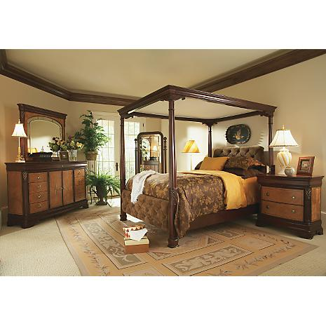 Chateau elegance king canopy bedroom - Elegant canopy bedroom sets ...