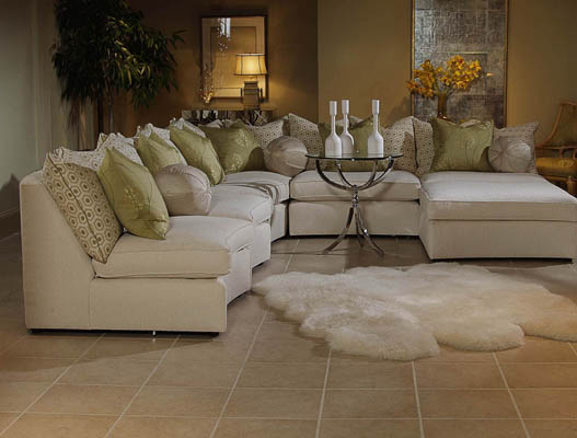 White Sectional Sofa Set : elegant sectional sofas - Sectionals, Sofas & Couches