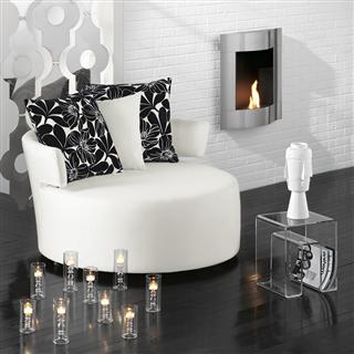 black and white chair - Black And White Chairs Living Room