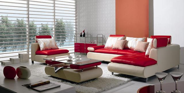Tables part 76 for Modern living room red