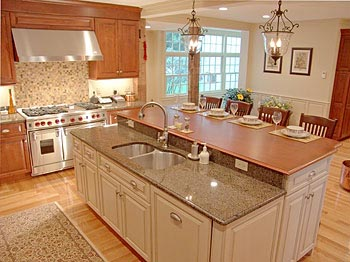 Superb Kitchen Betterimprovement Com Part 18. Reclaimed Chestnut Kitchen Island  Counter ...