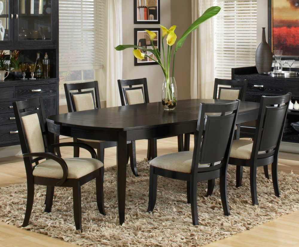Dining room chairs 2017 grasscloth wallpaper for Dining room furnishings