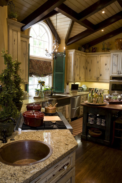 Country Wood Cabinets - Compare Prices Including French Country