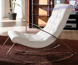 Ultra Modern White Rocking Chair Better Home Improvement Www