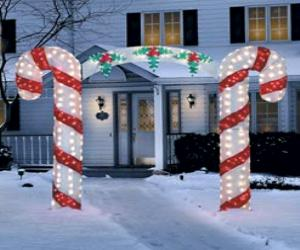 Lighted Candy Cane Arch Better Home Improvement Www