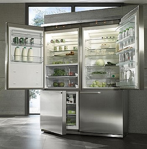 Refrigerator grand froid from miele - Luxurious kitchen appliances ...