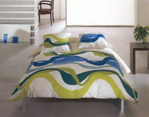 Alaris Blue Bedding