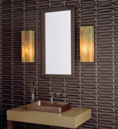 Asian Inspired Bathroom Vanity