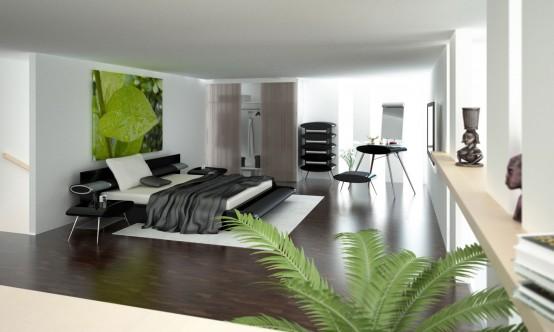 Bedroom1 Modern Bedroom