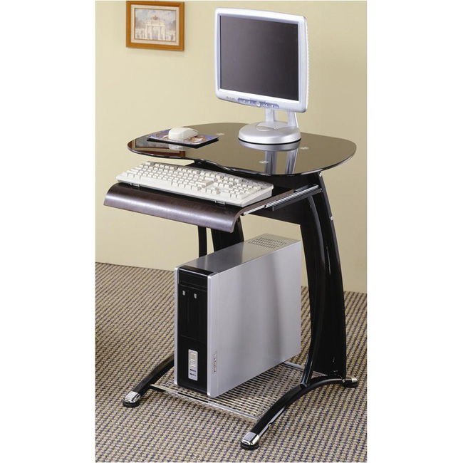 Compact Computer Desk Workstation Compact Computer Desk Workstation