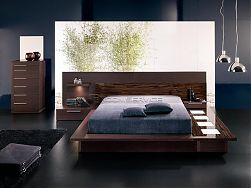 Contemporary walk on bedroom set Contemporary Walk On Bedroom Set