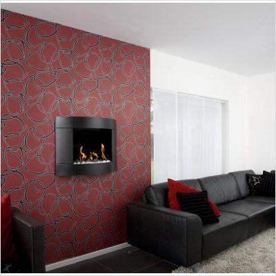 Diamond Fireplace