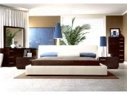 Italian Leather Modern Bedroom