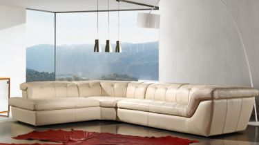 Italian Leather Sectional Italian Leather Sectional