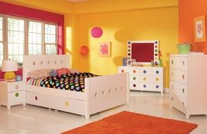 Little Miss Panel Storage Bedroom Set
