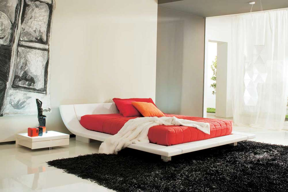 Plaza Leather Bedroom Suite