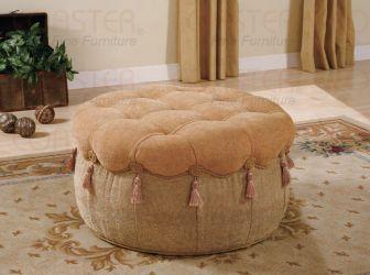 Round Fabric Ottoman Round Fabric Ottoman