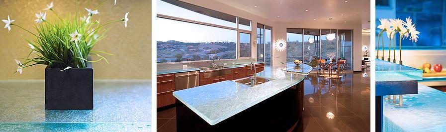 Think Glass Kitchen Countertops