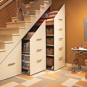Under Stairs Storage Cabinets - Betterimprovement.com