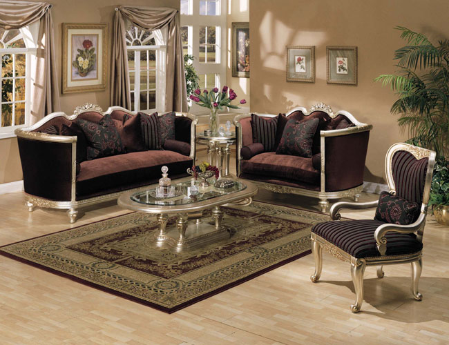 Wood Framed Living Room Set Wood Framed Living Room Set