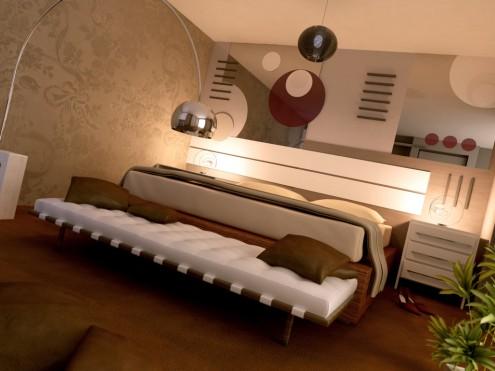 Sound White Bedroom Set