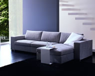 modern sofa with character