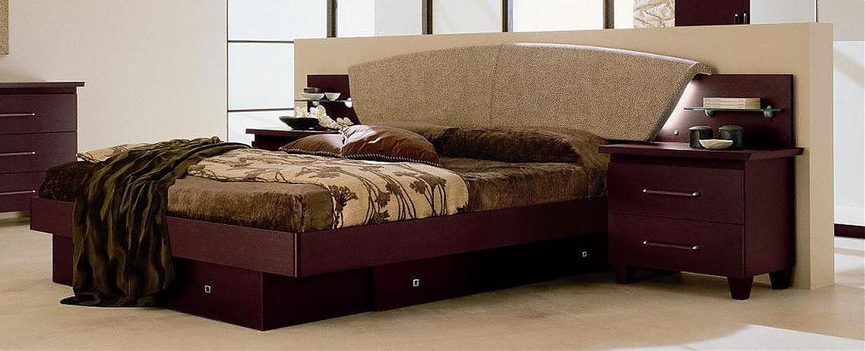 Italia Platform Bed