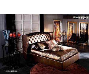 Royal Dark Golden Bed